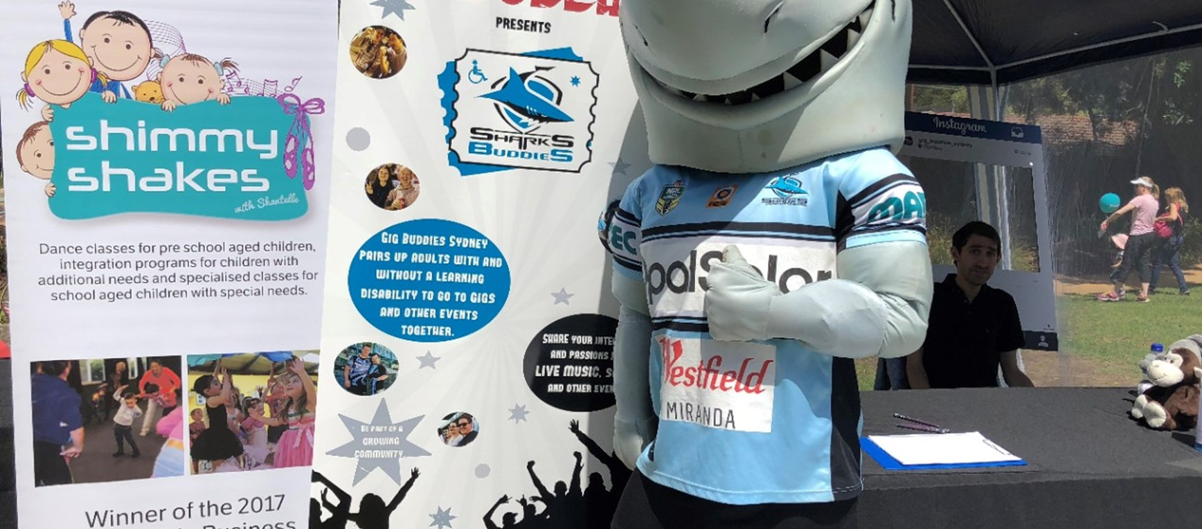 Sharks support International Disability Day
