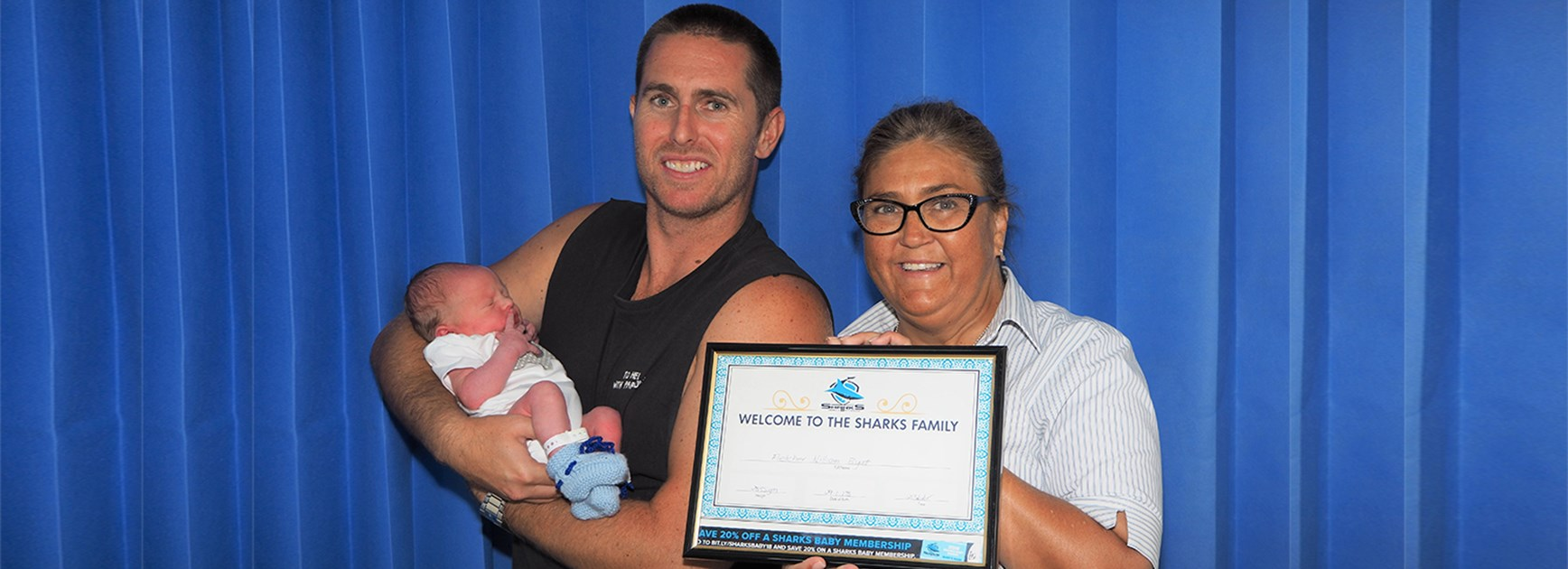 Sharks Baby Memberships