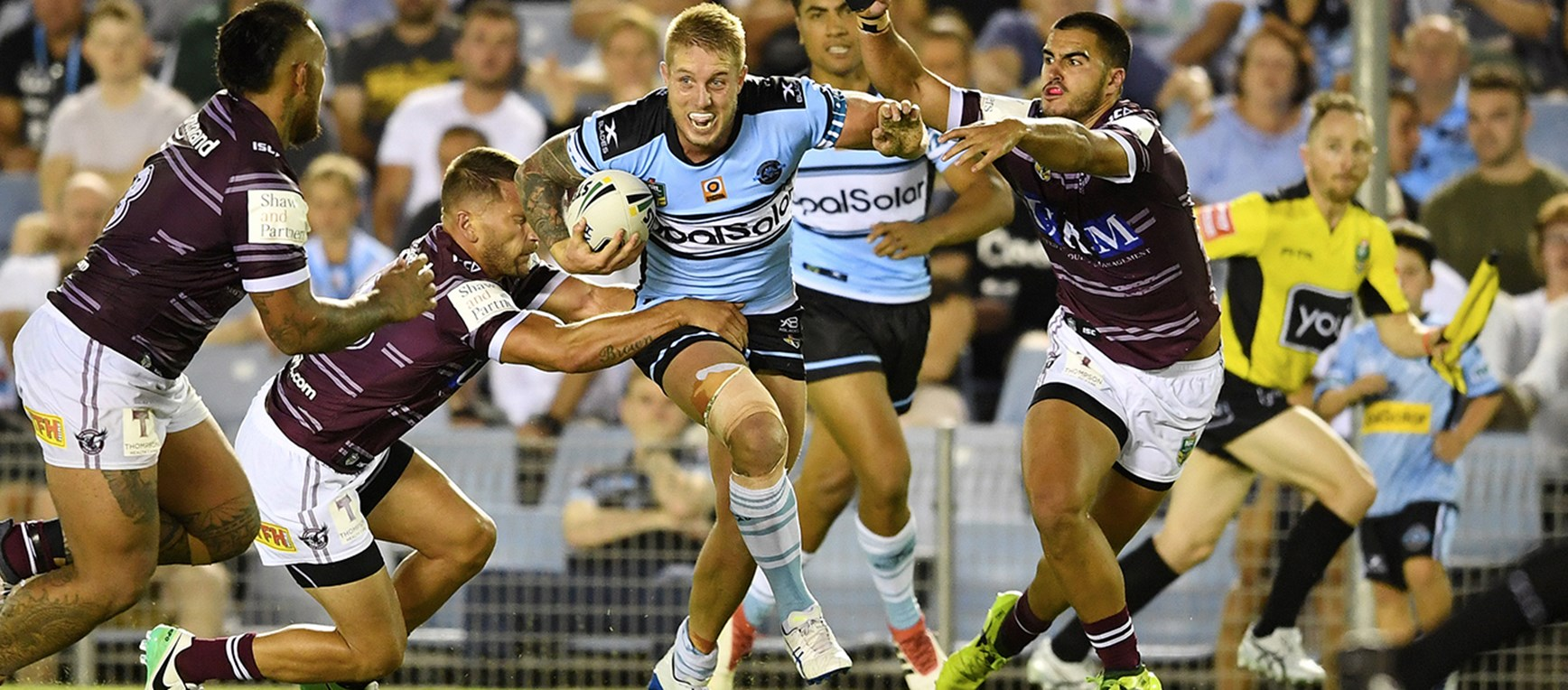In Pictures: Sharks v Manly