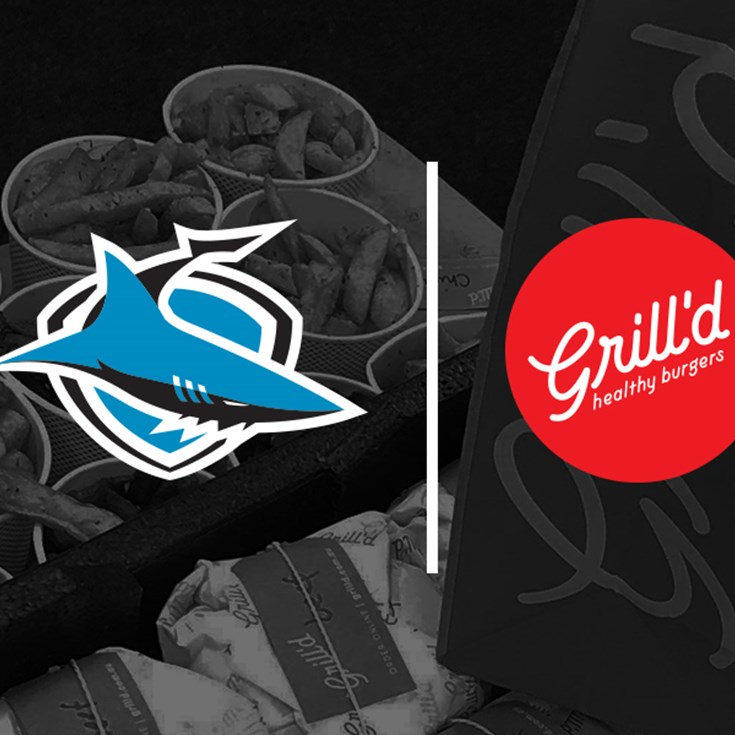 Grill'd Healthy Burgers are fuelling the Sharks this season