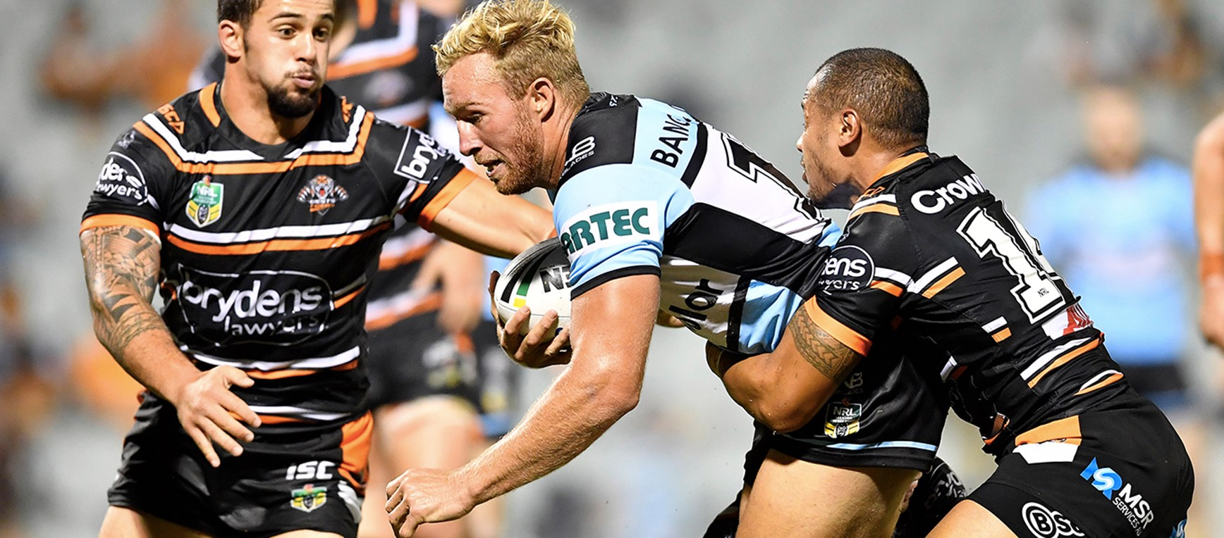 In Pictures: Sharks v Tigers