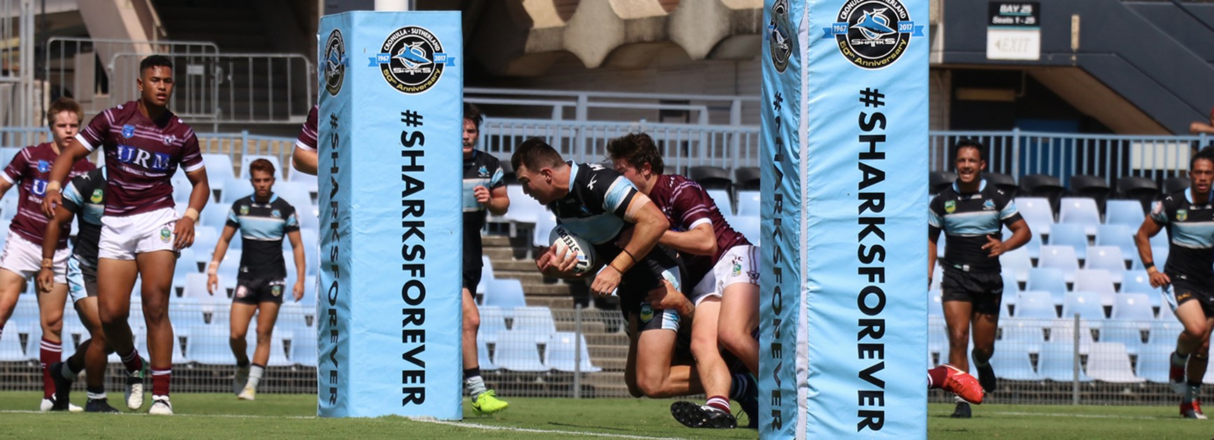 Flegg Sharks solid trial hit-out