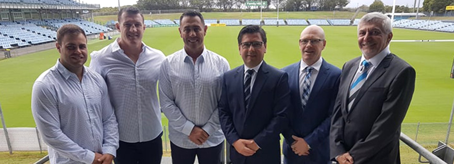 Members endorse stability at the Sharks