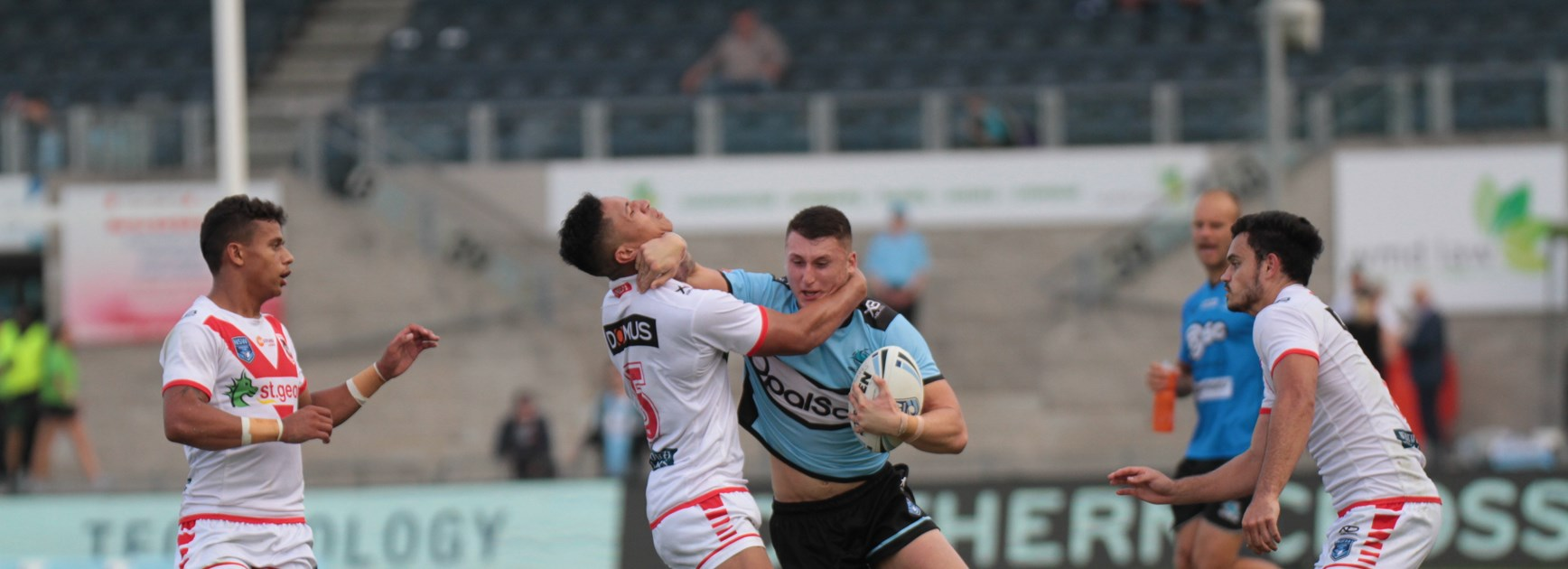 Flegg Sharks play out a draw with the Dragons