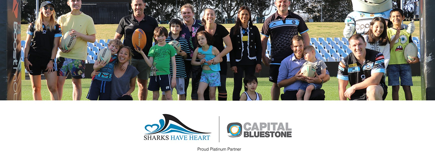 Sharks and Capital Bluestone 'Have Heart'