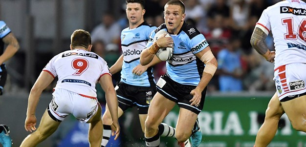 Battered Sharks go down to Dragons