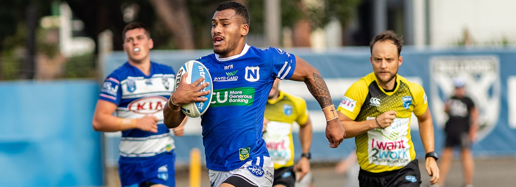 ISP Team List - Jets v Warriors