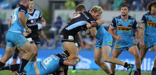 Prior inspirational in gutsy Sharks win