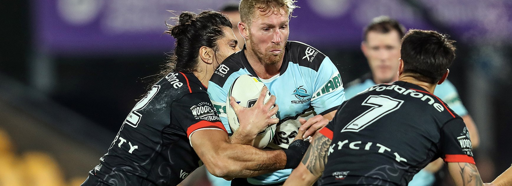 Sharks steal a win over the Warriors