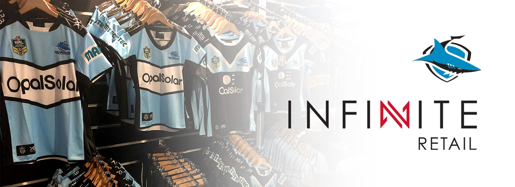 'Infinite' possibilities with Sharks new retail partner