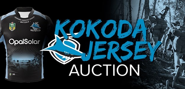 Own some special Sharks memorabilia