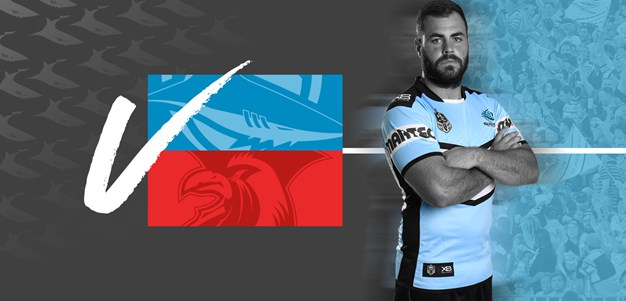 Qualifying Final Team List - Sharks v Roosters