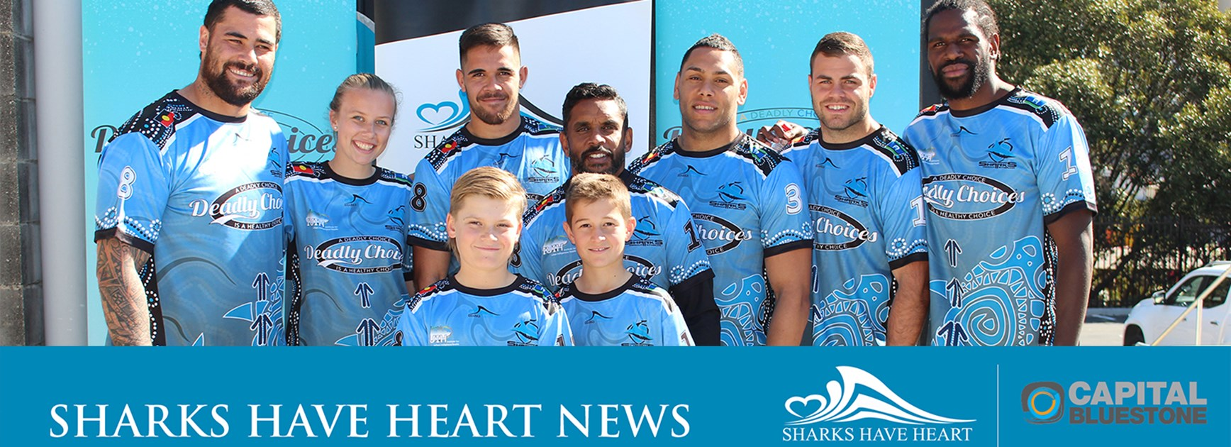 Sharks Have Heart newsletter – August 2018