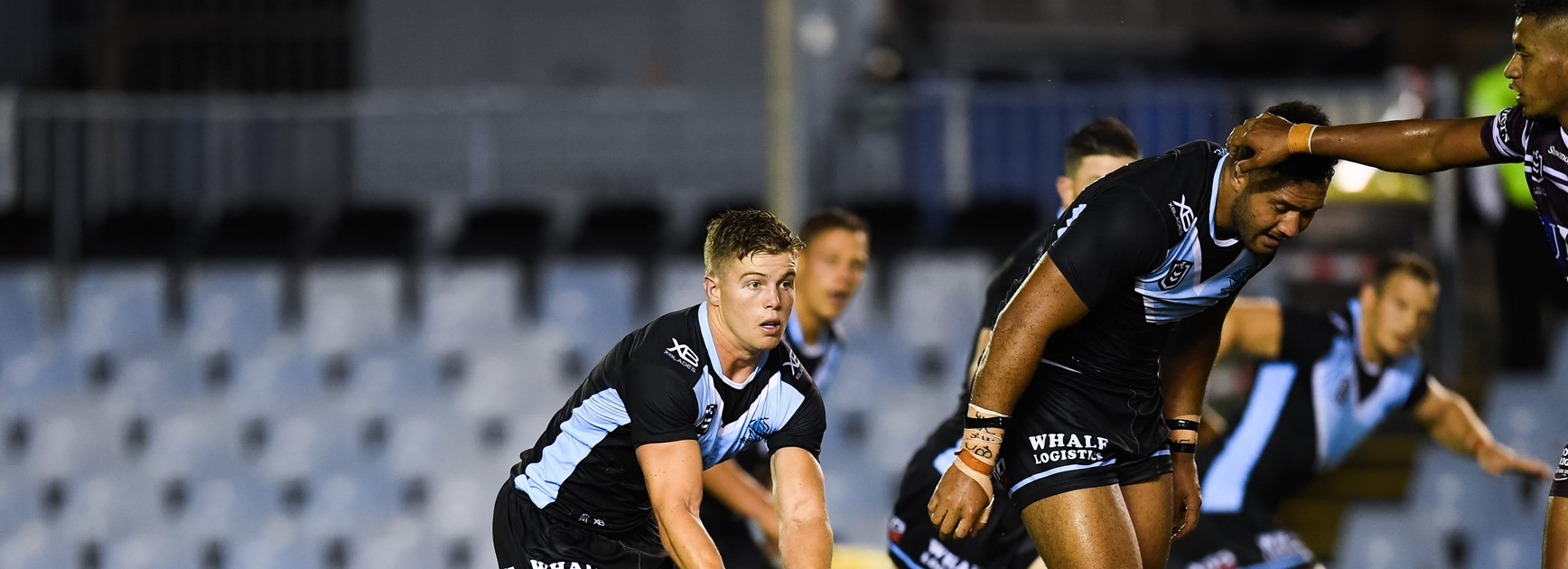 Sharks secure solid trial win