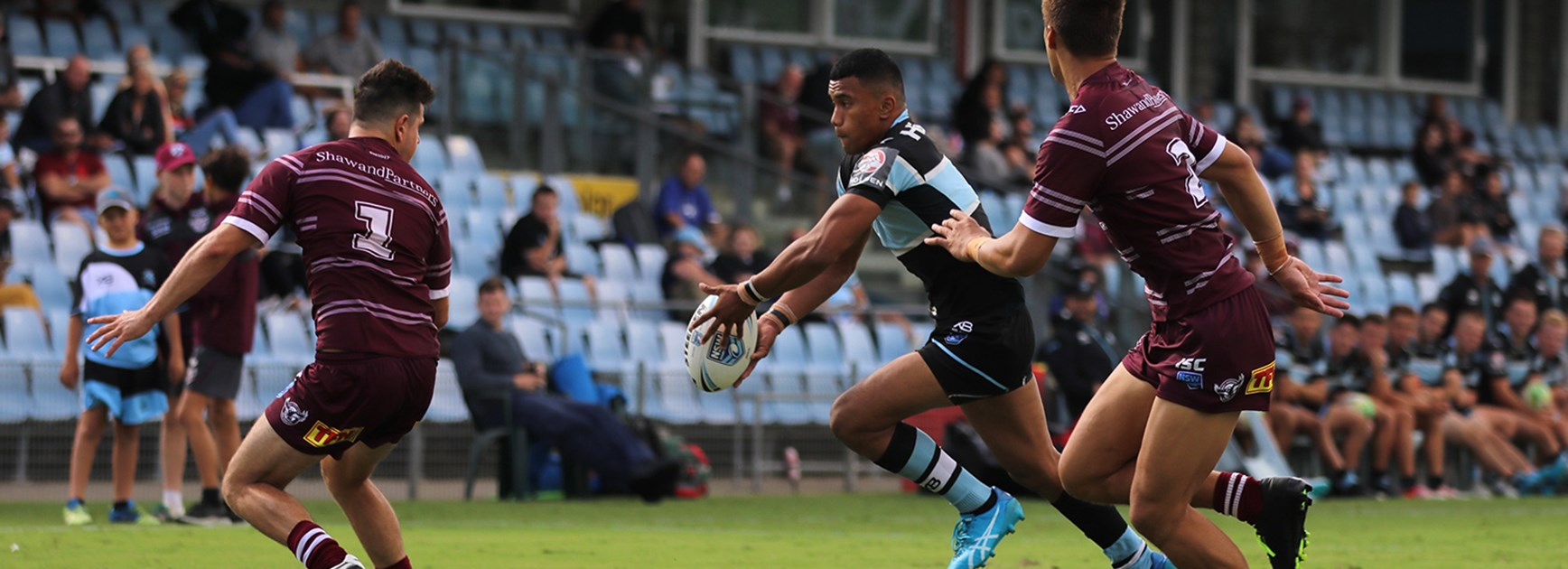 Jersey Flegg - Sharks impress in trial win