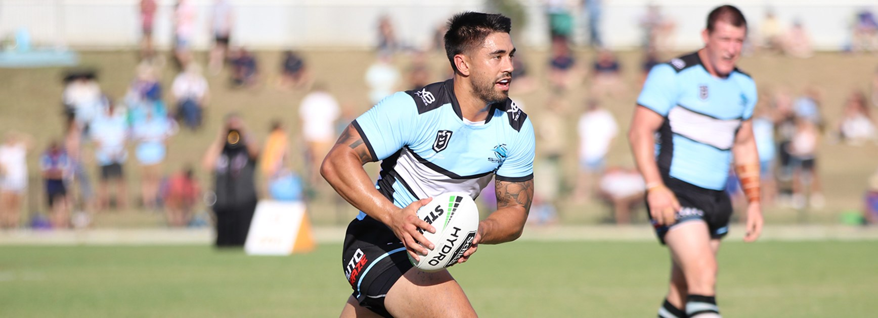 Sharks score impressive trial win