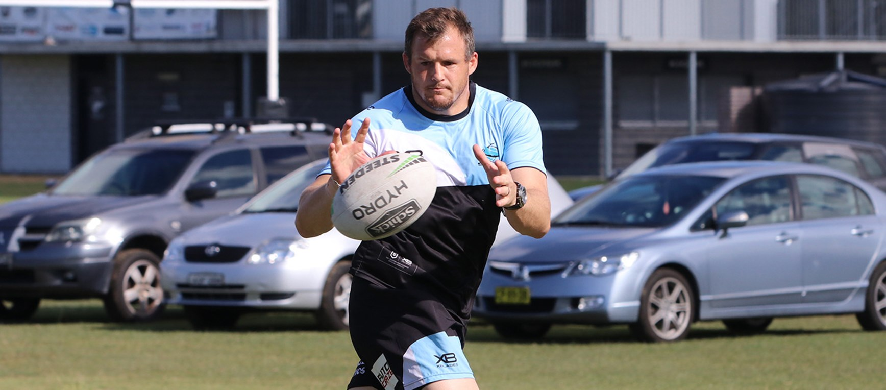 In Pictures: Sharks prepare for the Broncos