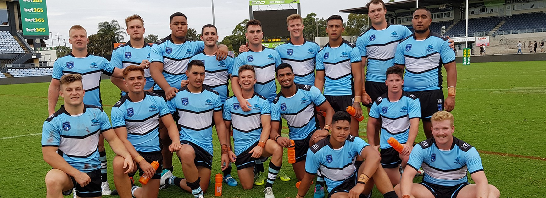 Jersey Flegg Team List - Sharks v Eels