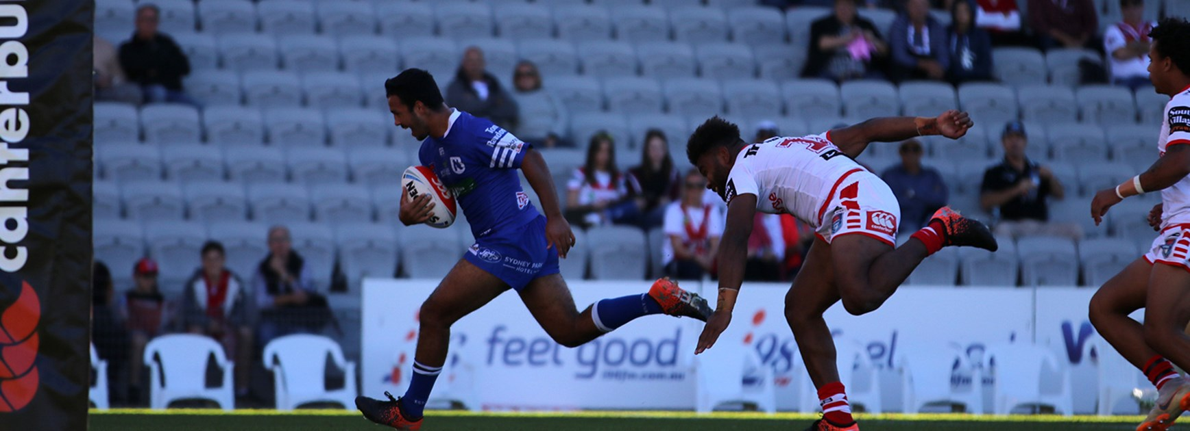 Jets soar to victory over Dragons