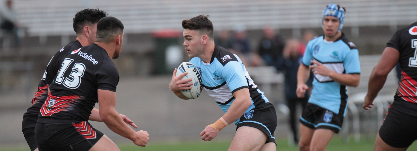 Flegg Sharks leave it late