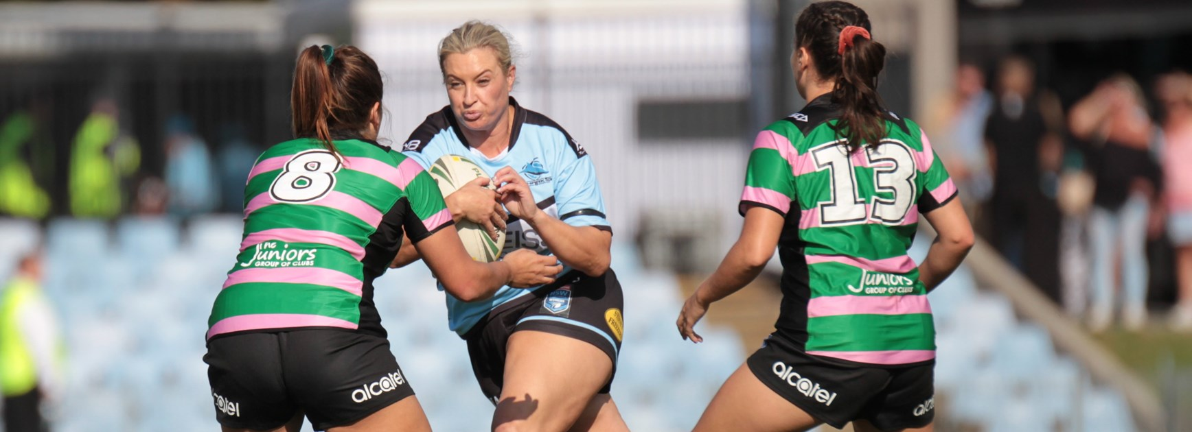 Sharks Women beat Magpies with dominant second half