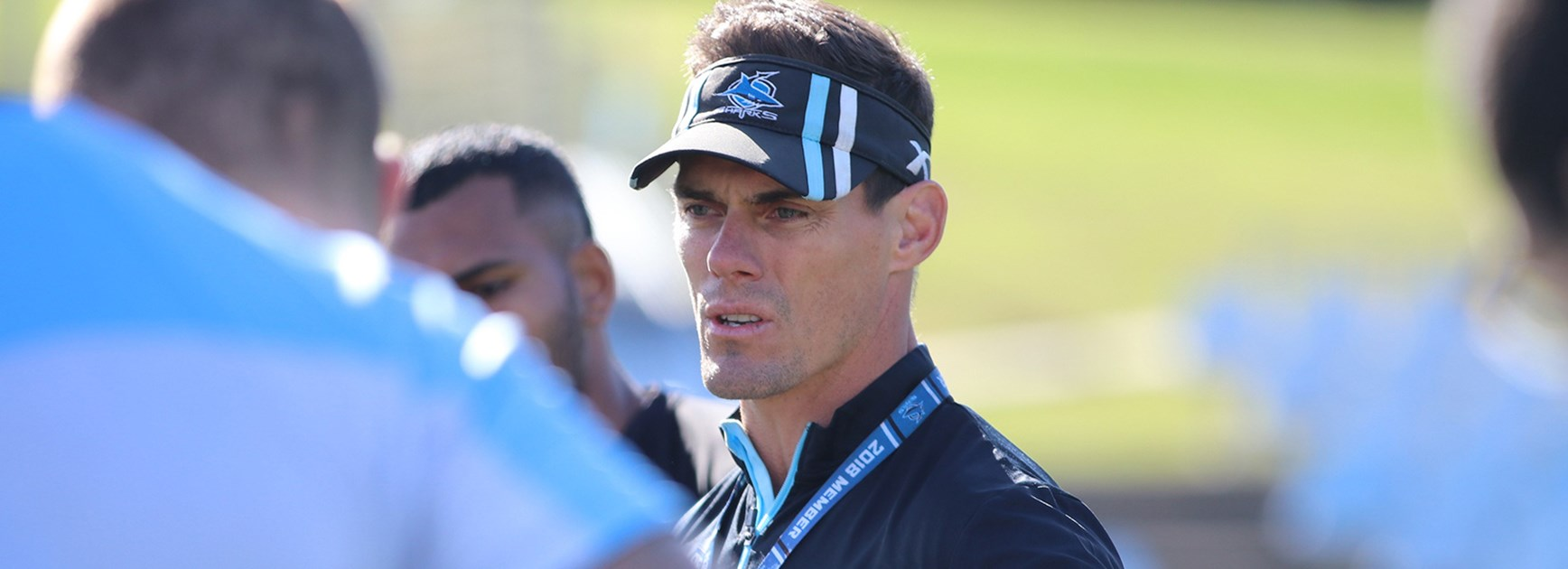 Morris overseeing changing of the guard at Sharks