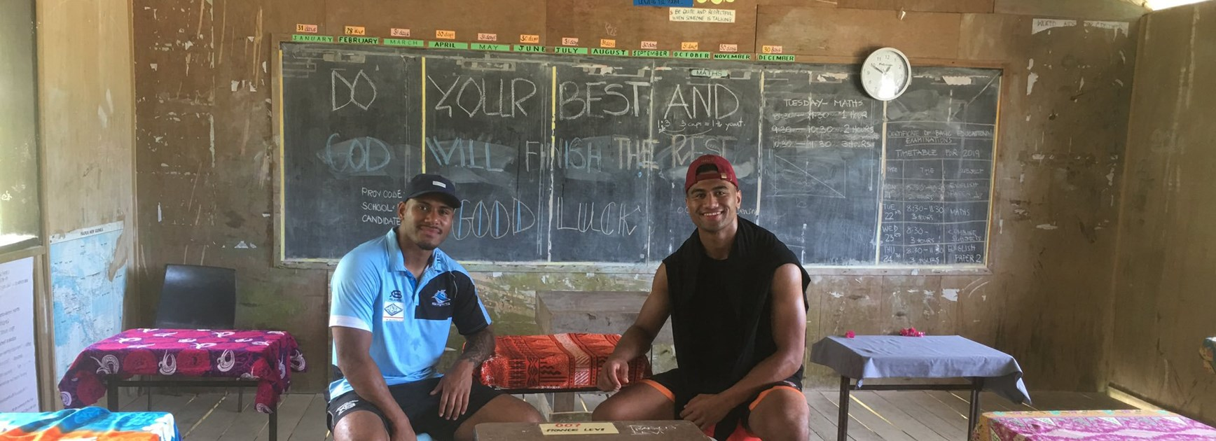 Sharks and Dogs team up on significant PNG project