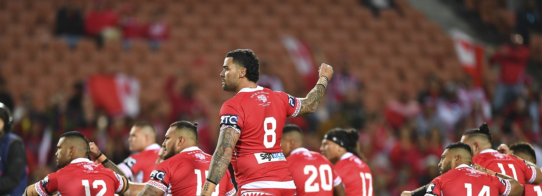 Shark against Shark in Aust-Tonga clash
