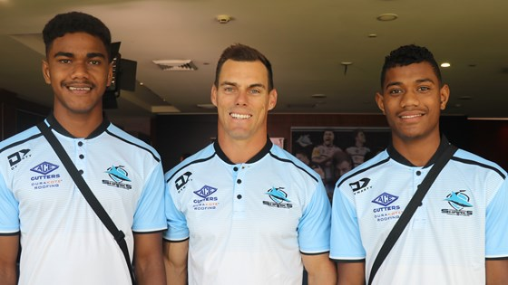 Sharks welcome young Fijian duo
