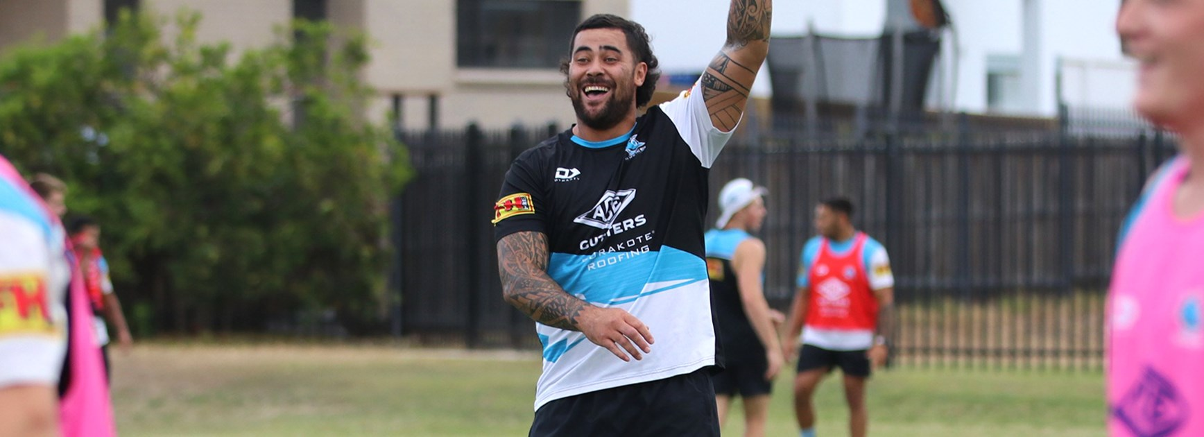 Fifita and Graham All Stars fan favourites
