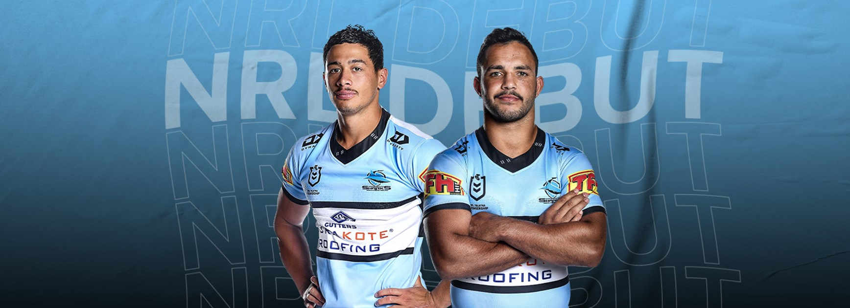 Sharks to unleash two debutants against Brisbane tonight