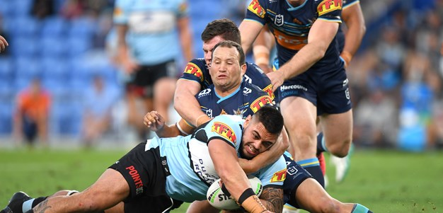 Strong second half propels Sharks to Titans victory