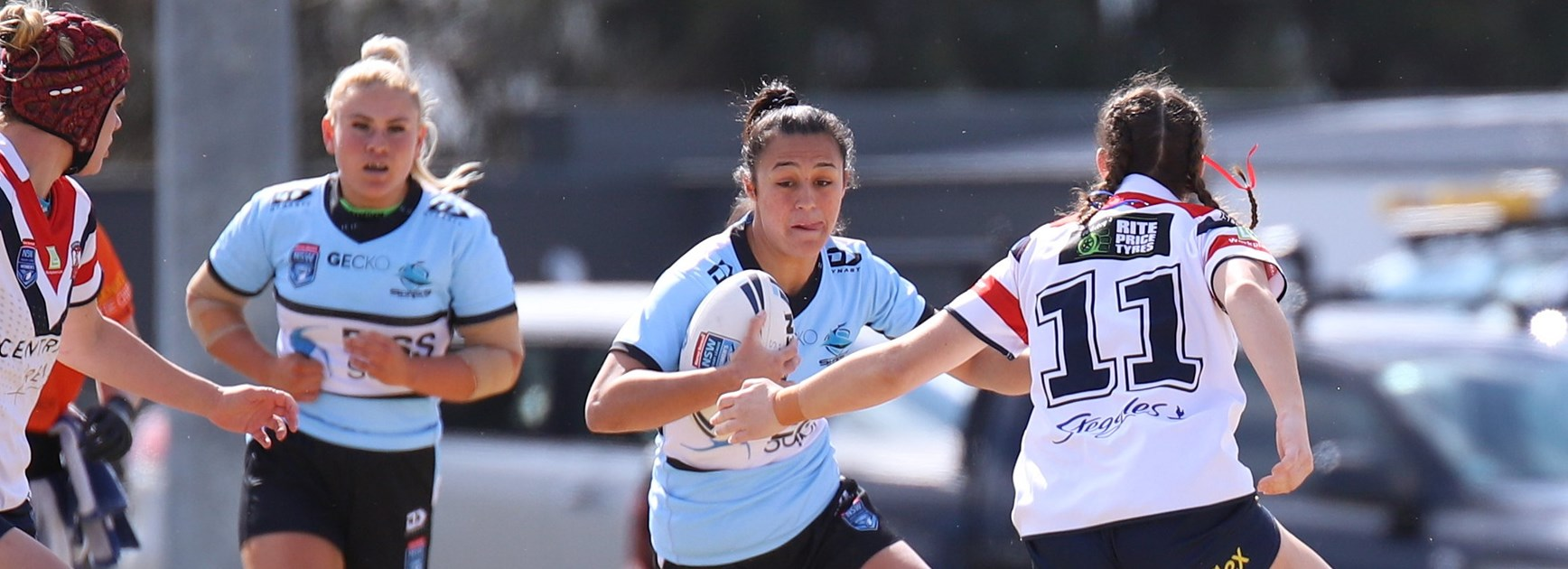 Unbeaten run ends for Sharks women