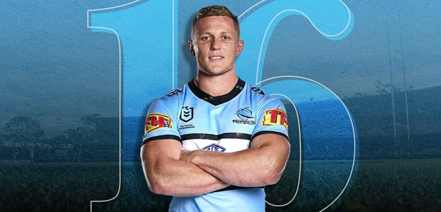 NRL Team List - Sharks v Cowboys