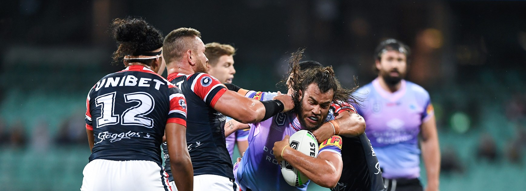 Sharks battered and beaten in Roosters loss