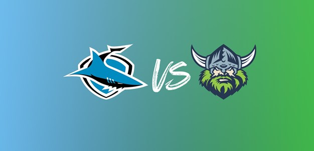 Sharks to face Raiders in week 1 of Finals