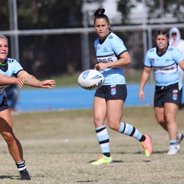 Four Sharks named in NSW Women's Origin squad