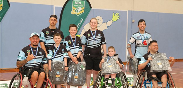 Sharks gallant in defeat in Wheelchair Grand Final