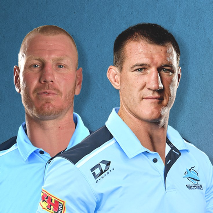 Sharks legends complement Sharks coaching structure