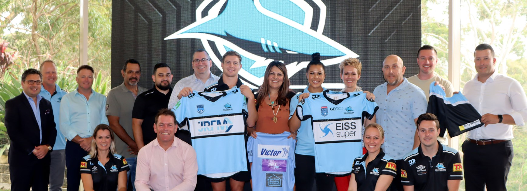 Sponsors on board for Junior Academy and Women's Sharks