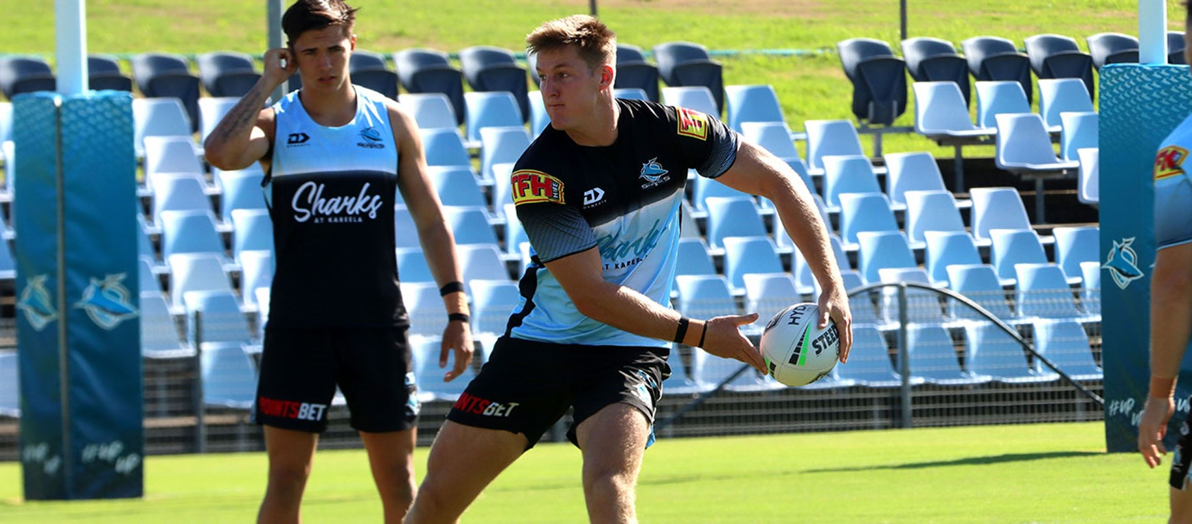 Sharks ready for Dragons trial