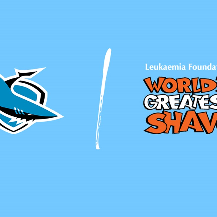 Sharks support the World's Greatest Shave