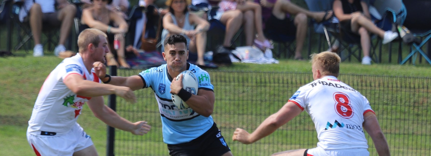 Flegg Sharks downed in dour round one clash