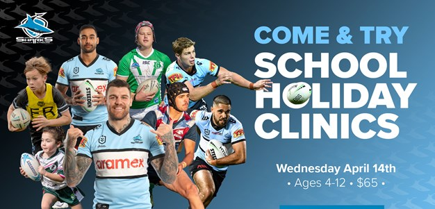 Sharks Holiday clinics – It's not too late to register