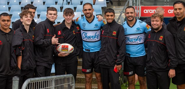 Sharks partner up with ADF