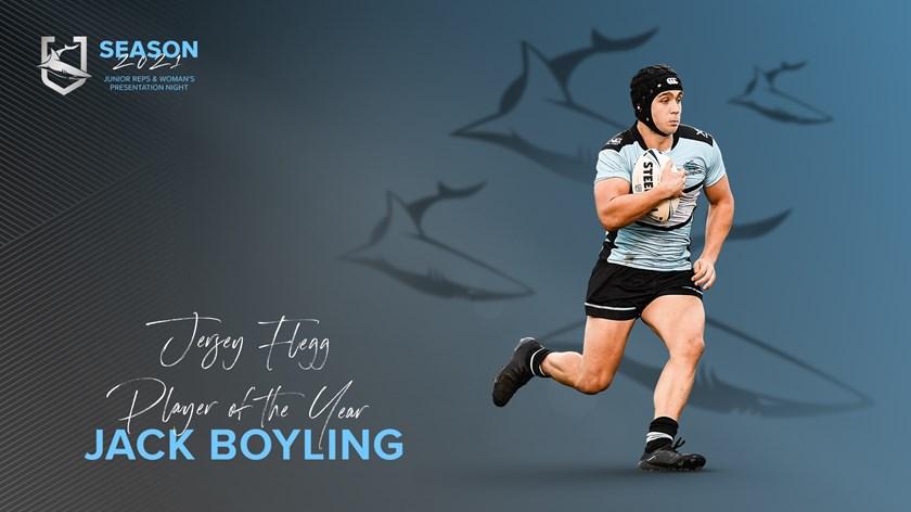 Sharks Jersey Flegg Player of the Year - Jack Boyling